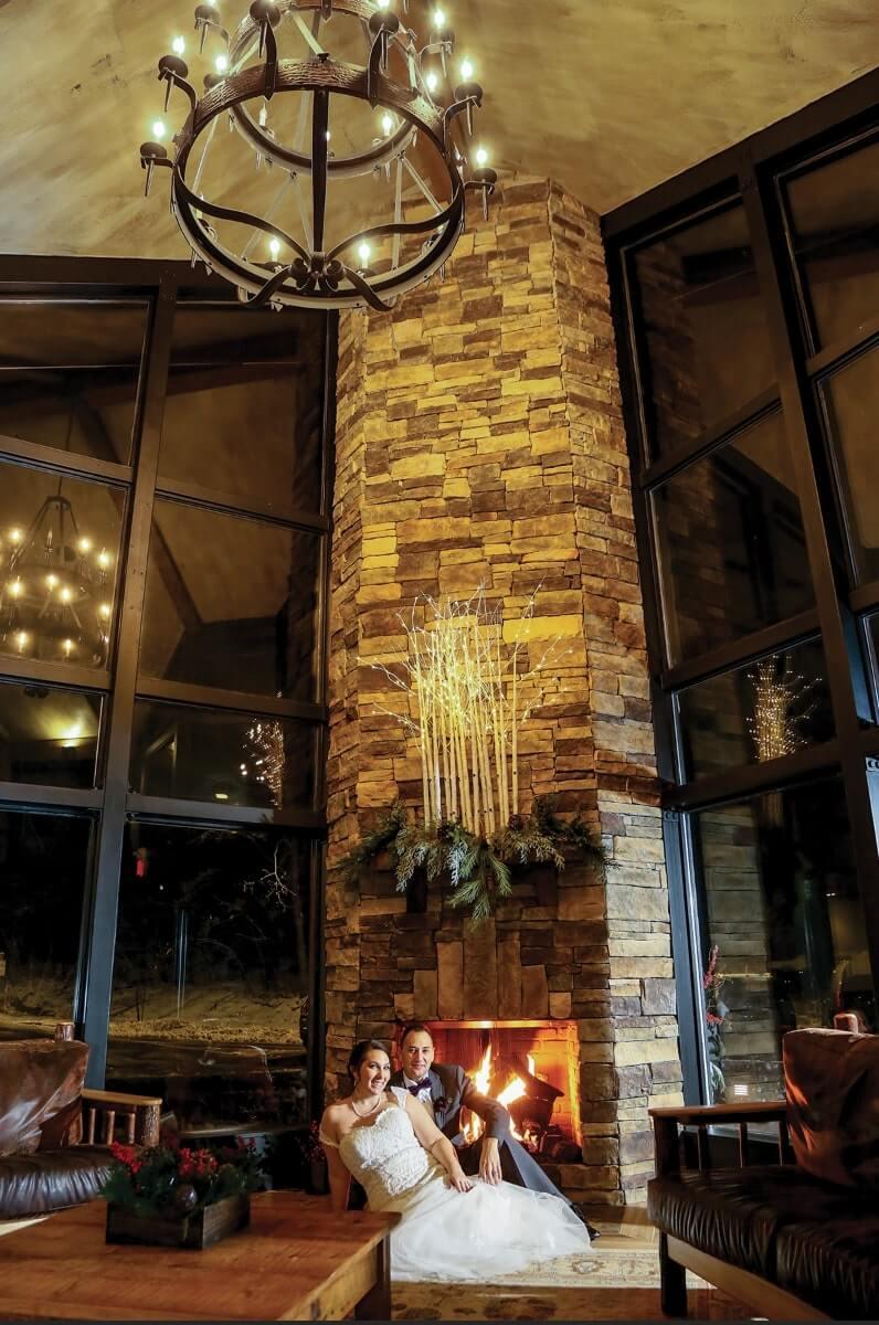 DD - Foyer Fireplace